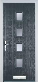 modern front door. 4 Square Composite Doors Modern Front Door