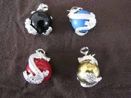 silver naga dragon harmony ball pendant