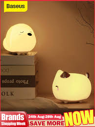 купите <b>baseus cute</b> night light touch sensor с бесплатной ...