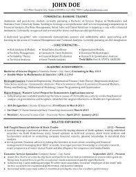 Resume Template Entry Level Simple Banking Resume Sample Entry Level Samples Resumes Bank Best