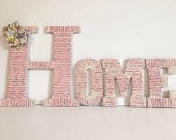 15 Ways To Decorate Wood Letters  Home Decor  Pinterest Letter S Home Decor