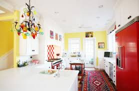 colorful kitchen ideas. View In Gallery Colorful Kitchen Featuring A Traditional Carpet Ideas G