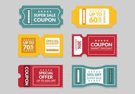 Coupon Outline Template Coupon Free Vector Art 17 667 Free Downloads