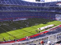 Sports Authority Field Mile High Stadium Seating Chart Invesco Field At Mile High Invesco Field Seat Map