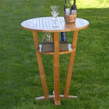 decoration exquisite outdoor wood bar table 13 round outdoor wood bar table
