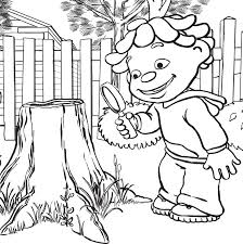 Small Picture the science kid coloring pages