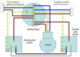 two way lighting wiring diagram wiring wiring diagram gallery single throw double pole switch wiring at Double Pole Switch Wiring Diagram Light