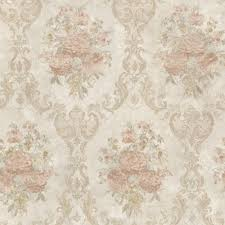 Mirage Dutchess Salmon Floral Damask ...