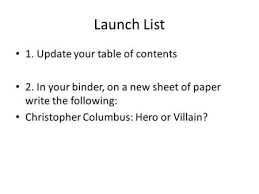 kurt vonnegut writer teacher artist speaker veteran  launch list 1 update your table of contents 2 in your binder on