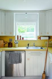 Cherry Wood Classic Blue Windham Door Cost To Paint Kitchen Cabinets  Professionally Backsplash Subway Tile Stone