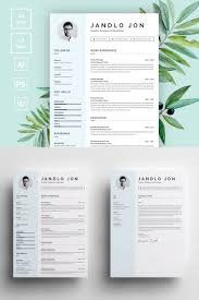 modern clean resume template jandlo jon modern clean resume template