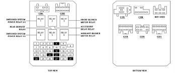 solved need fusebox diagram for 1999 ford windstar se fixya 58765ab gif