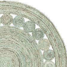 circular jute rug round natural rug 4 round jute rug hand woven grey jute rug