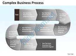 business process template complex business process powerpoint templates ppt presentation