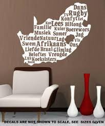 south africa afrikaans words wall art sticker lrg vinyl decal vinyl lady decals  on wall art vinyl stickers south africa with south africa afrikaans words wall art sticker lrg vinyl decal