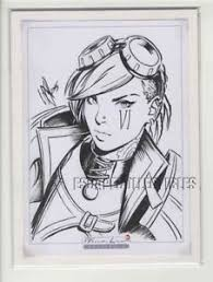 image is loading vi original ic book art sketch drawing warren