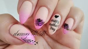 Mother S Day Nail Designs Happy Mothers Day Nail Art