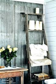 corrugated tin walls tin walls interior funky junk rustic corrugated galvanized corrugated tin wall covering