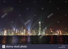 Skyline Festival Of Lights Discount Skyline Of Hong Kong During Festival Of Lights Stock Photo