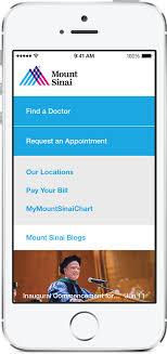 Mychart Mountsinai Org My Chart Mount Sinai Launches New Umbrella App Mountsinainy For