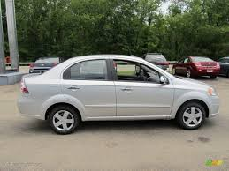 Ice Silver Metallic 2011 Chevrolet Aveo LT Sedan Exterior Photo ...