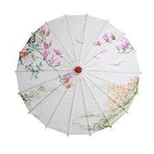 XMYIFOR <b>Chinese</b> Silk Cloth <b>Umbrella</b> Classical Style <b>Decorative</b> ...