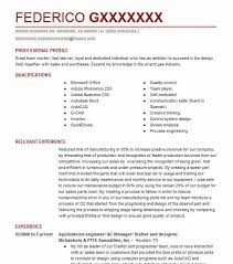 Drafter Resume Autocad Drafter Resume Samples Resume Examples Resume