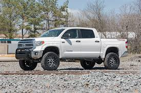 lifted toyota tundra. Wonderful Lifted ROU 75720 Rough Country 4IN Suspension Lift Kit 2016  2017 Toyota Tundra To Lifted Y