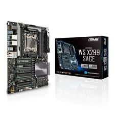 <b>ASUS</b> Intel Core-X <b>WS X299</b> SAGE CEB Workstation <b>Motherboard</b> ...