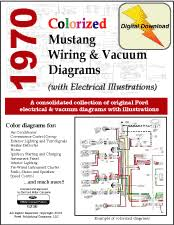 wiring diagram for a 1970 ford mustang the wiring diagram 1970 ford mustang shop manual wiring diagram