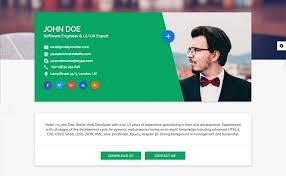 Resume Website Template Best Resume Websites Resume Samples