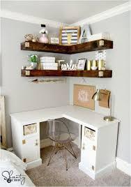 diy desk wall decor 15 diy corner desk ideas with step by step plans