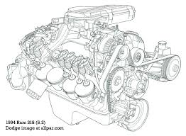 la chrysler small block v engines 318 v8