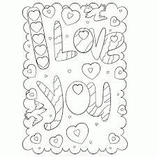 75 I Love You Kleurplaat Kleurplaat 2019