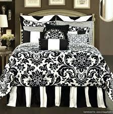 black bedding sets full fancy black and white full comforter sets in shabby chic duvet covers
