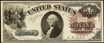 Confederate Money Value Chart Series Of 1880 One Dollar Bill Value Sell Old Currency
