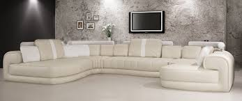 cream colored leather sectional amazing coffeetreestudio home ideas 2
