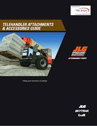 Jlg G12 55a Load Chart Telehandler Attachments And Accessories Guide Manualzz Com