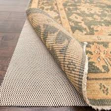 rubber rug pad are natural pads safe for hardwood floors premium grip beige rugs from