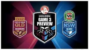 STATE OF ORIGIN GAME 3 2017 NSW VS QLD ...