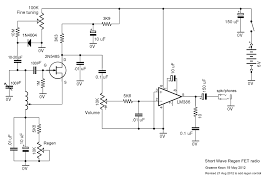Lifier large size ponent simple radio circuit using op am and short wave projects