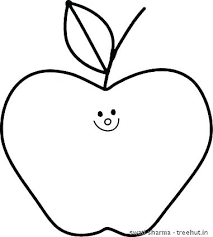Apple Pictures To Color Apple Colouring Page Apples Coloring Page