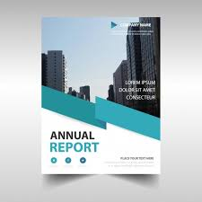 Blue Professional Annual Report Template Vector | Free Download
