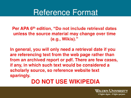 Apa 6th Edition Website In Text Citation Apa 6th Edition Referencing