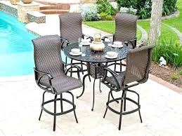 Outdoor Bar Table And Stools Furniture Set Sets Patio Info Regarding Remodel