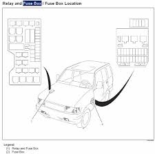 2004 isuzu rodeo fuse box diagram vehiclepad 2004 isuzu rodeo planetisuzoo com isuzu suv club • view topic 2000 trooper