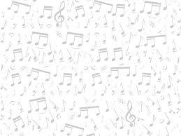 音符イラスト音符音楽記号 更に薄く 無料のフリー素材