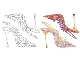 Coloring page with educational implication is a real treasure for parents: You Can Get Free Shoe Themed Coloring Pages Online Insider