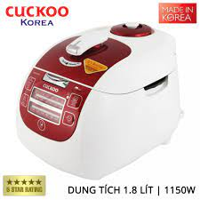 Nồi cơm điện tử áp suất Cuckoo CRP-G1015M dung tích 1.8 lít xuất xứ Hàn  Quốc - Bảo hành chính hãng 24 tháng - 3,099,000