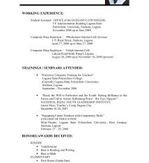 Pdf Resume Template Magnificent Sample Student Resume Templates Fascinating High School Template